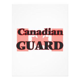 Canadian Guard 21.5 Cm X 28 Cm Flyer