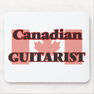 Canadian Guitarist Mouse Pad