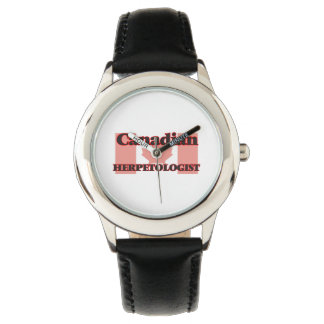 Canadian Herpetologist Wristwatches