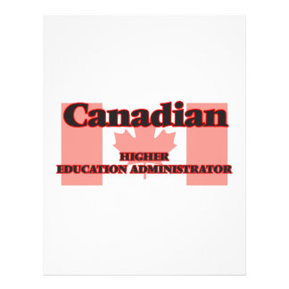 Canadian Higher Education Administrator 21.5 Cm X 28 Cm Flyer