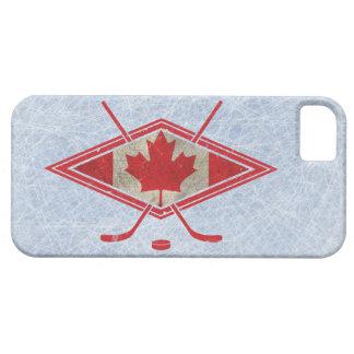 Canadian Hockey Flag Logo iPhone 5 Covers
