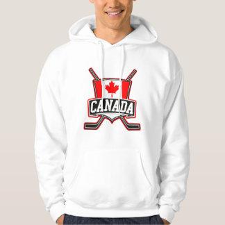 Canadian Hockey Logo Hoodie