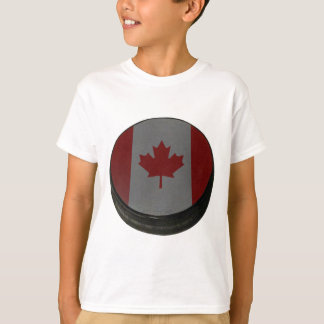 Canadian Hockey Puck Shirt