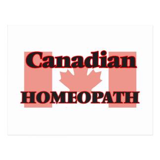 Canadian Homeopath Postcard