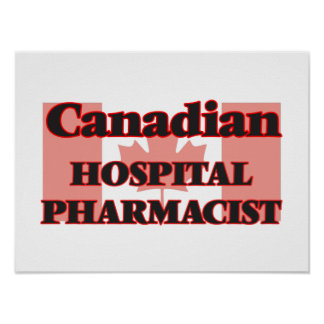 Canadian Hospital Pharmacist Poster