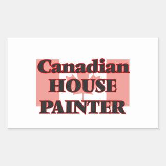 Canadian House Painter Rectangular Sticker
