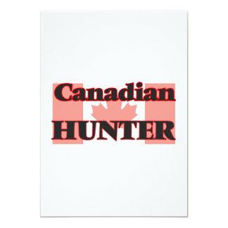 Canadian Hunter 13 Cm X 18 Cm Invitation Card