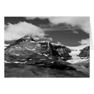 Canadian Ice Mountain Note Greeting Card