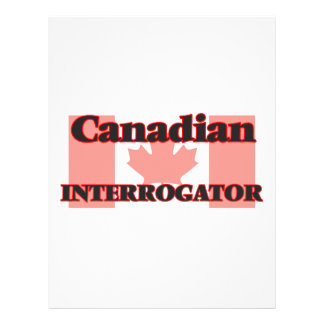 Canadian Interrogator 21.5 Cm X 28 Cm Flyer
