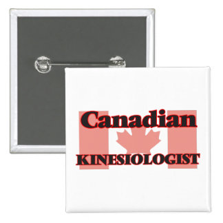 Canadian Kinesiologist 15 Cm Square Badge