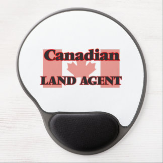 Canadian Land Agent Gel Mouse Pad