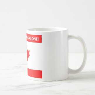 Canadian Leaf Design Mugs