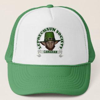 Canadian leprechaun society  St Patrick's day Trucker Hat