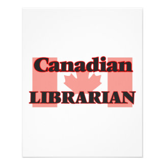 Canadian Librarian 11.5 Cm X 14 Cm Flyer