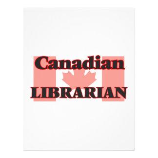 Canadian Librarian 21.5 Cm X 28 Cm Flyer