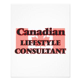 Canadian Lifestyle Consultant 11.5 Cm X 14 Cm Flyer