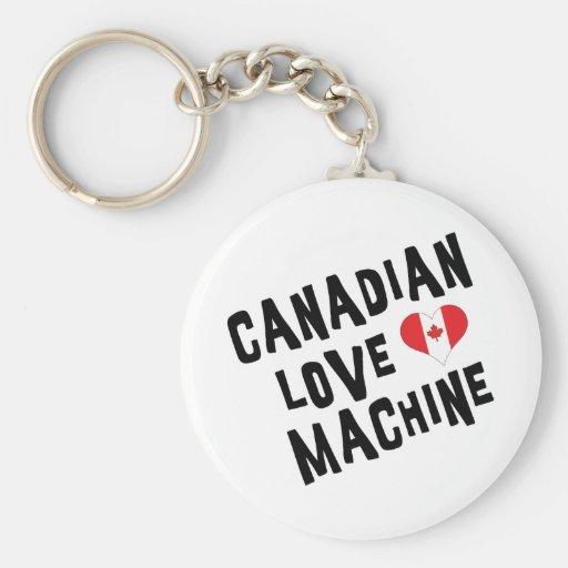 Canadian Love Machine Keychain