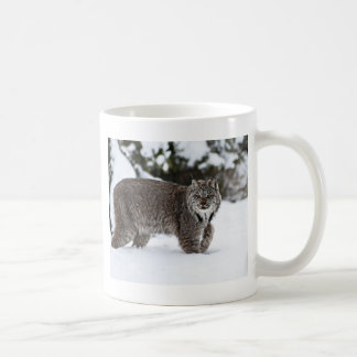 Canadian Lynx in the Snow Coffee Mug