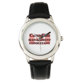 Canadian Management Consultant Wristwatch