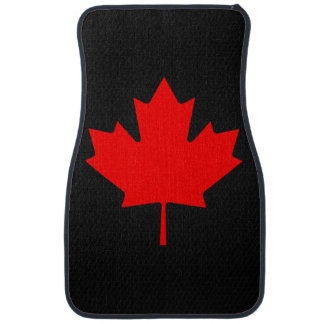 Canadian Maple Leaf Car Mat