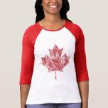 Canadian Maple Leaf Grunge Style CANADA T-Shirt