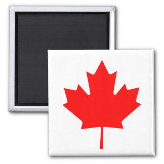 Canadian Maple Leaf Magnet