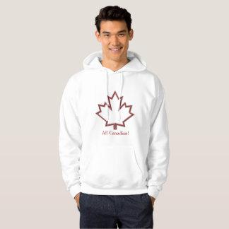 Canadian Maple Leaf Men's Hoodie