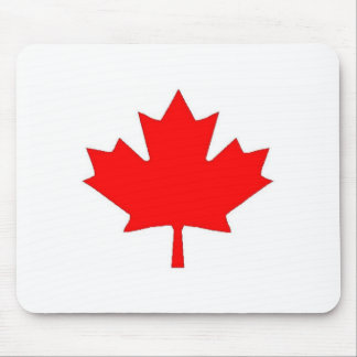 Canadian Maple Leaf Mouse Pad