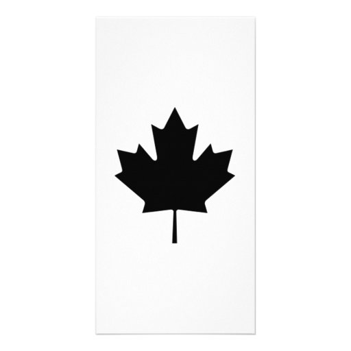 Canadian Maple Leaf Picture Card