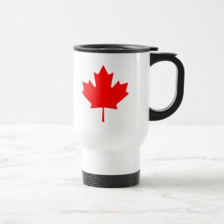 Canadian Maple Leaf Stainless Steel Travel Mug