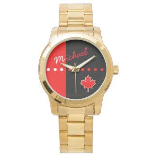 Canadian Maple Leaf Watch