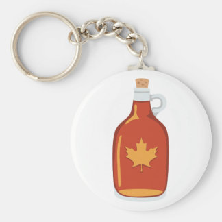 Canadian Maple Syrup Key Ring