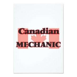 Canadian Mechanic 13 Cm X 18 Cm Invitation Card