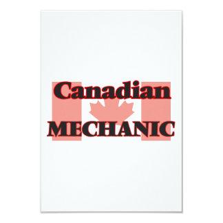 Canadian Mechanic 9 Cm X 13 Cm Invitation Card