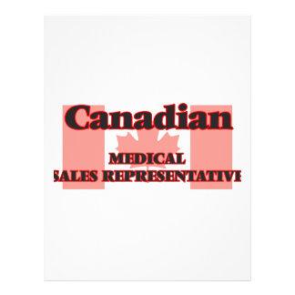 Canadian Medical Sales Representative 21.5 Cm X 28 Cm Flyer