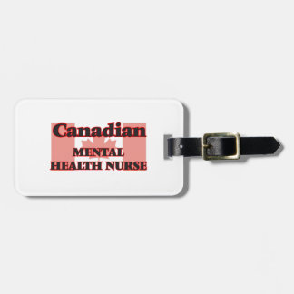 Canadian Mental Health Nurse Tags For Bags