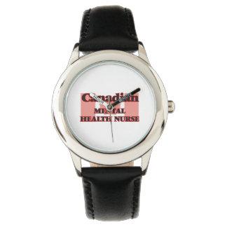 Canadian Mental Health Nurse Wrist Watch