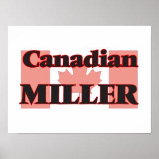 Canadian Miller Poster