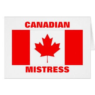 CANADIAN MISTRESS CARD