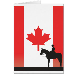 Canadian Mountie Card