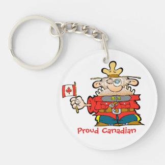 Canadian Mountie  KEYCHAIN