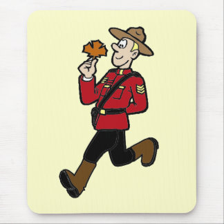 Canadian Mountie Mouse Mat
