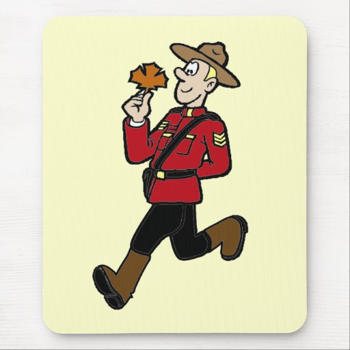 Canadian Mountie Mousemat
