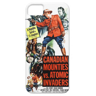 Canadian Mounties Vs. Atomic Invaders iPhone 5 Cases