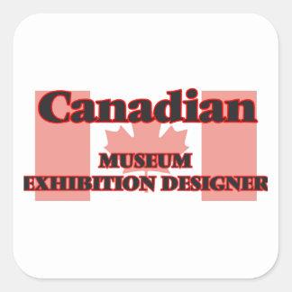 Canadian Museum Exhibition Designer Square Sticker