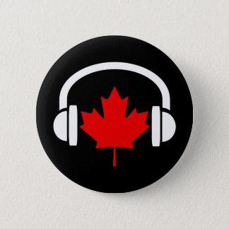 Canadian Music 6 Cm Round Badge