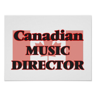 Canadian Music Director Poster