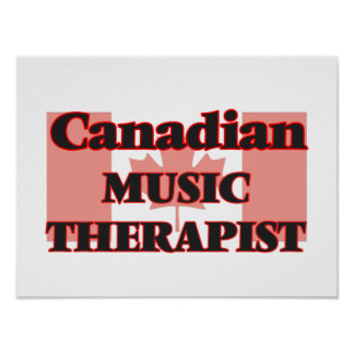 Canadian Music Therapist Poster