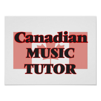 Canadian Music Tutor Poster
