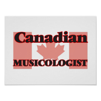 Canadian Musicologist Poster